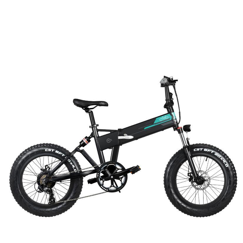 Stock-europa-FIIDO-M1-bicicletta-elettrica-pieghevole-per-ciclomotore-20-pollici-Fat-Tire-Snow-Bicycle-3 Recensione Fiido M1, Fat Bike elettrica 2020