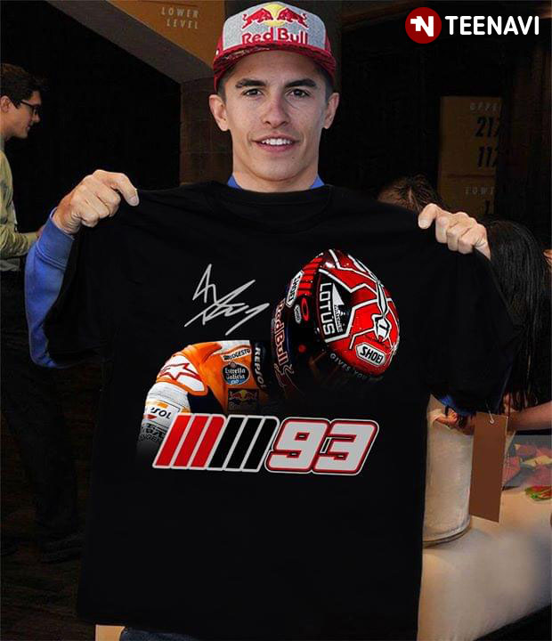Marc Márquez Mm93 Signature T-Shirt