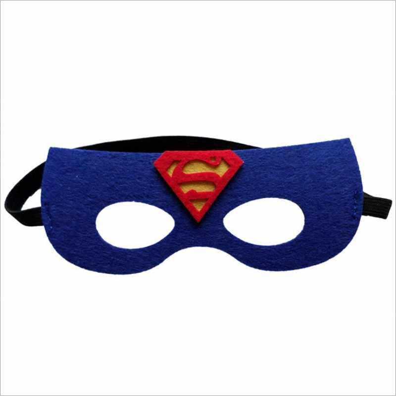 Süper kahraman maske Cosplay Superman Batman örümcek adam Hulk Thor IronMan prenses cadılar bayramı noel çocuklar yetişkin parti giysileri maskeleri