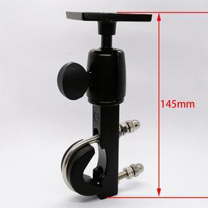 Image 4 - Heavy Duty Aluminium Motorrad Motorrad Lenker Halterung mit Standard AMPS Loch Muster für Garmin TomTom GPS Navigator etc