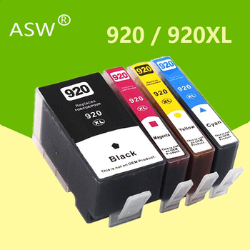 For HP 920 compatible ink cartridge for 920XL HP920 Officejet 6000 6500 6500A 7000 7500 7500A printer with chip - discount item  7% OFF Office Electronics