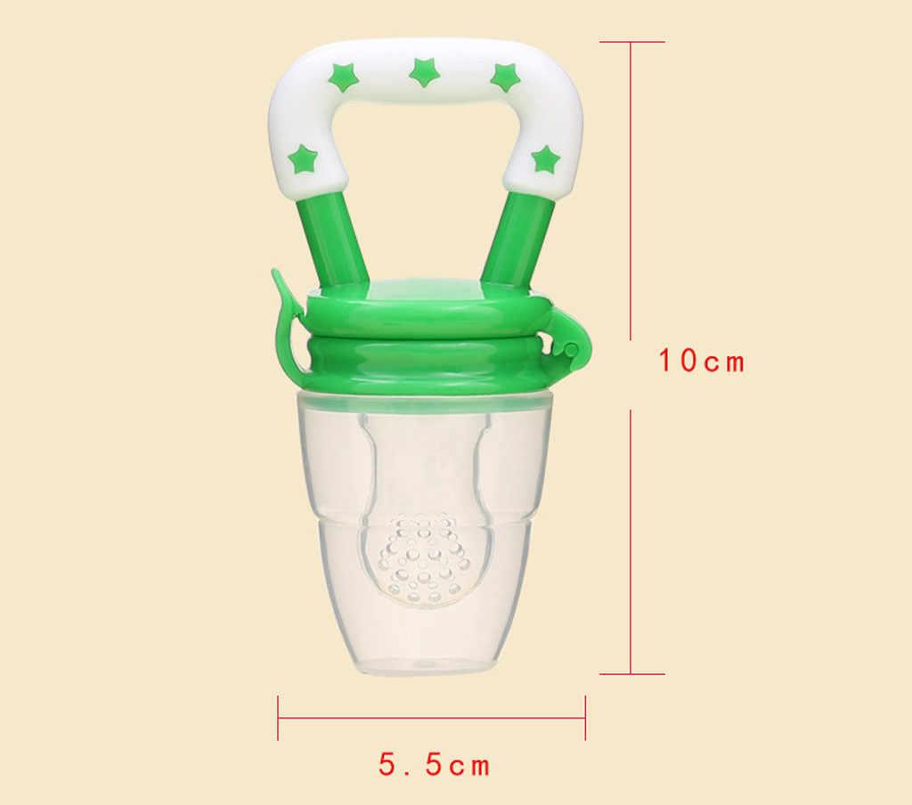 Bébé sucette sécurité Silicone bambins bébé dentition légumes fruits enfant en bas âge jouet de dentition anneau à croquer sucette manger de la nourriture 2019