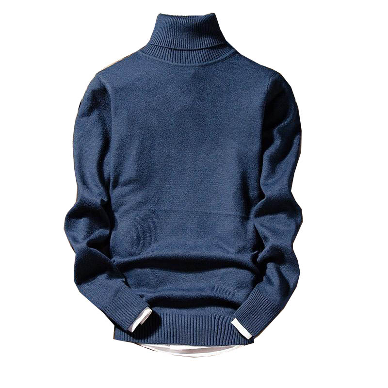 Cashmere Sweater Men 2019 New Arrival Men's Christmas Sweater Long Sleeve Slim Fit Turtleneck Pullover Men MY889