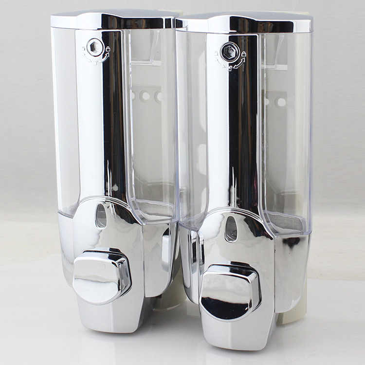 350 Ml 700 Ml Cairan Busa/Double Dispenser Sabun Modis Wall Mount Sabun Pembersih Kamar Mandi Kamar Mandi Shower Sampo Dispenser