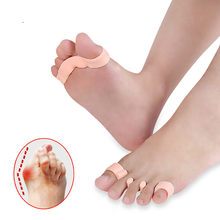 Silicone Inserts Pads For Shoes Hallux Valgus Orthotics Bunion Splint For Separater Toe Big Bone Orthopedic Correction Separater