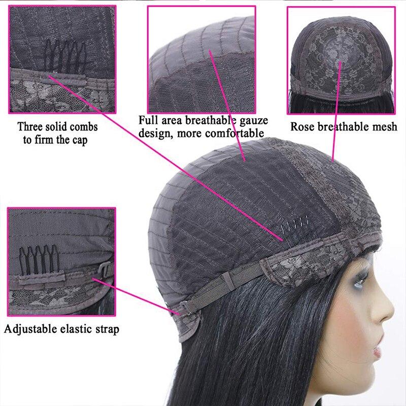 Shinelady-Remy-Human-Hair-Wigs-With-Bangs-Straight-Hair-Bob-Wig-8-16-Natural-Black-Color-(5)