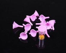 10 шт Шариков сортировки лотки розовые Воронка для круглой формы