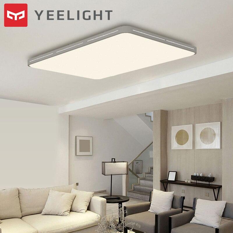 Original Yeelight YILAI YlXD07Yl 110W Rectangle Style Hollow LED Ceiling Light Pro Adjustable Smart Home App