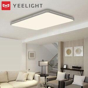Image 1 - 원래 Yeelight YILAI 90W 직사각형 스타일 할로우 LED 천장 조명 프로 조절 스마트 홈 app