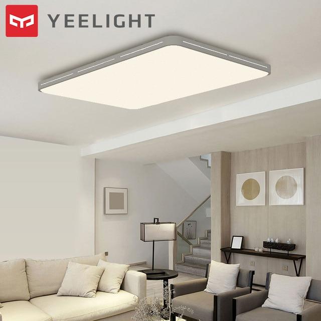 원래 Yeelight YILAI 90W 직사각형 스타일 할로우 LED 천장 조명 프로 조절 스마트 홈 app