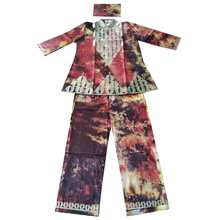 MD african woman clothes tops pants suit african print embroidery clothing traditional shirt and trouser set vetement femme 2019