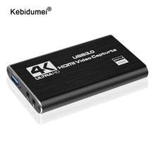 4K карта захвата видео USB 3,0 1080P, игровой ЗАХВАТ USB 2,0, карта захвата для Youtube OBS, потоковая трансляция в реальном времени