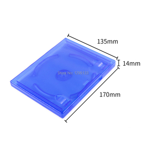 Image 2 - 10 for Sony PS4 PlayStation 4 Blue Replacement Game Cases OEM Box for Play Station 4 Pro Slim Blu ray Disc