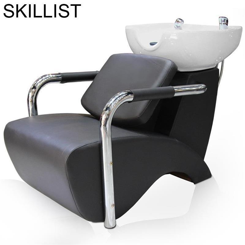 For Makeup Barber Shop De Belleza Beauty Lavacabezas Hair Furniture Silla Peluqueria Cadeira Maquiagem Salon Shampoo Chair