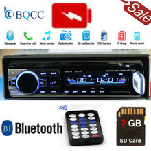 Radio voiture Bluetooth stéréo MP3 lecteur Audio 5V chargeur FM/USB/SD/AUX Auto électronique Subwoofer In-Dash 1 DIN(China)