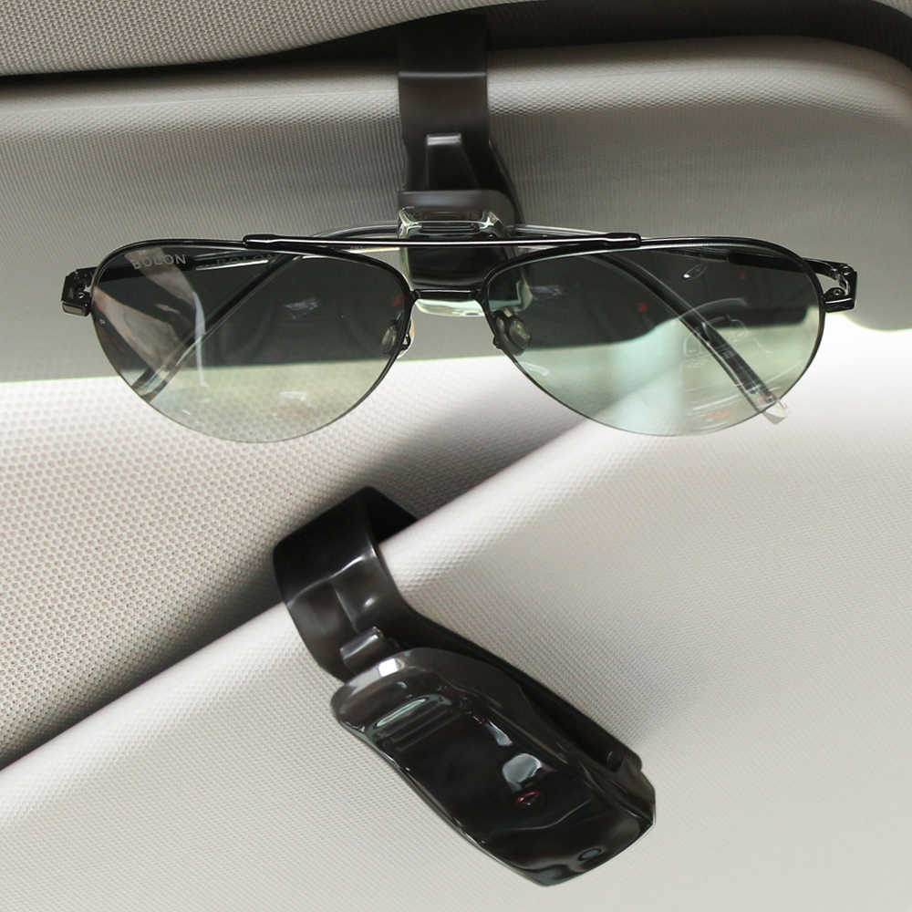 Soporte de gafas para coche, Clip para tickets para Mercedes Benz W201 GLA W176 CLK W209 W202 W220 W204 W203 W210 W124 W211 W222