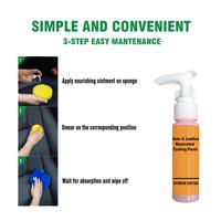 30ml Auto Leather Renovated Coating Paste Maintenance Agent  Accessories Car Wash Antifogging Agent Upholstery Cleaner 6