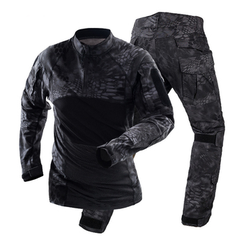 Men Tactical Camouflage Military Uniform Clothing Suit Men Army Clothes Special Sets Airsoft Combat Shirt Cargo Pants