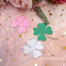 Four Leaf Clover Decoration Metal Cutting Dies Stencils for DIY Scrapbooking/photo album Decorative Embossing DIY Paper Cards