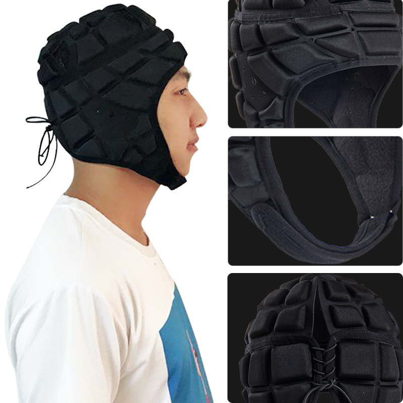 Manufacturers Direct Selling Anglo-American-Style Adult Rugby Helmet Football Goalkeeper Baseball Cap Breathable Wear Head Prote