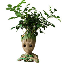 Garden Planter Model-Toy Flower-Pot Groot Figurines-Tree Baby Kids Cute Gift Man