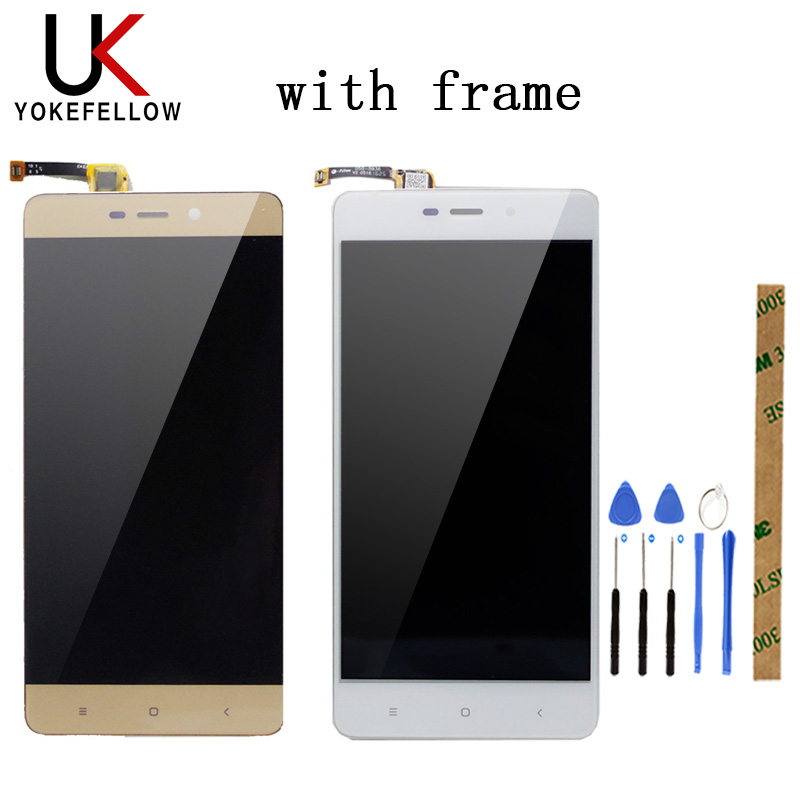 LCD Display For <font><b>Xiaomi</b></font> <font><b>Redmi</b></font> <font><b>4</b></font> <font><b>Pro</b></font> / <font><b>Redmi</b></font> <font><b>4</b></font> Prime LCD Display Digitizer <font><b>Screen</b></font> Complete Assembly image