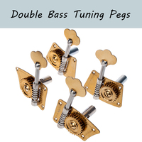4Pcs Upright Double Bass Tuning Pegs Tuners Machine Heads Singer Tuner 3/4 4/4 Double Bass Universal