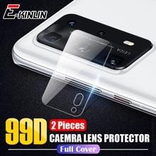 HuaWei P40 Pro Plus Lite E P30 P20 Mate 30 Pro 5G 투명 강화 유리 용 2 개/몫 후면 카메라 렌즈 후면 스크린 보호 필름