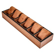 Wood Watch Display Box Jewelry Ring Earring Storage Organizer Wooden Case Watch Storage Packing Gift Boxes Jewelry Case(China)