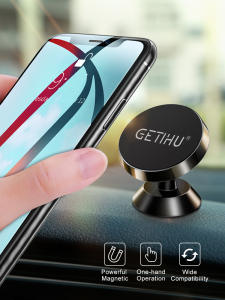 GETIHU Stand Magnet Car-Phone-Holder Air-Vent-Mount-Cell Universal iPhone X Samsung