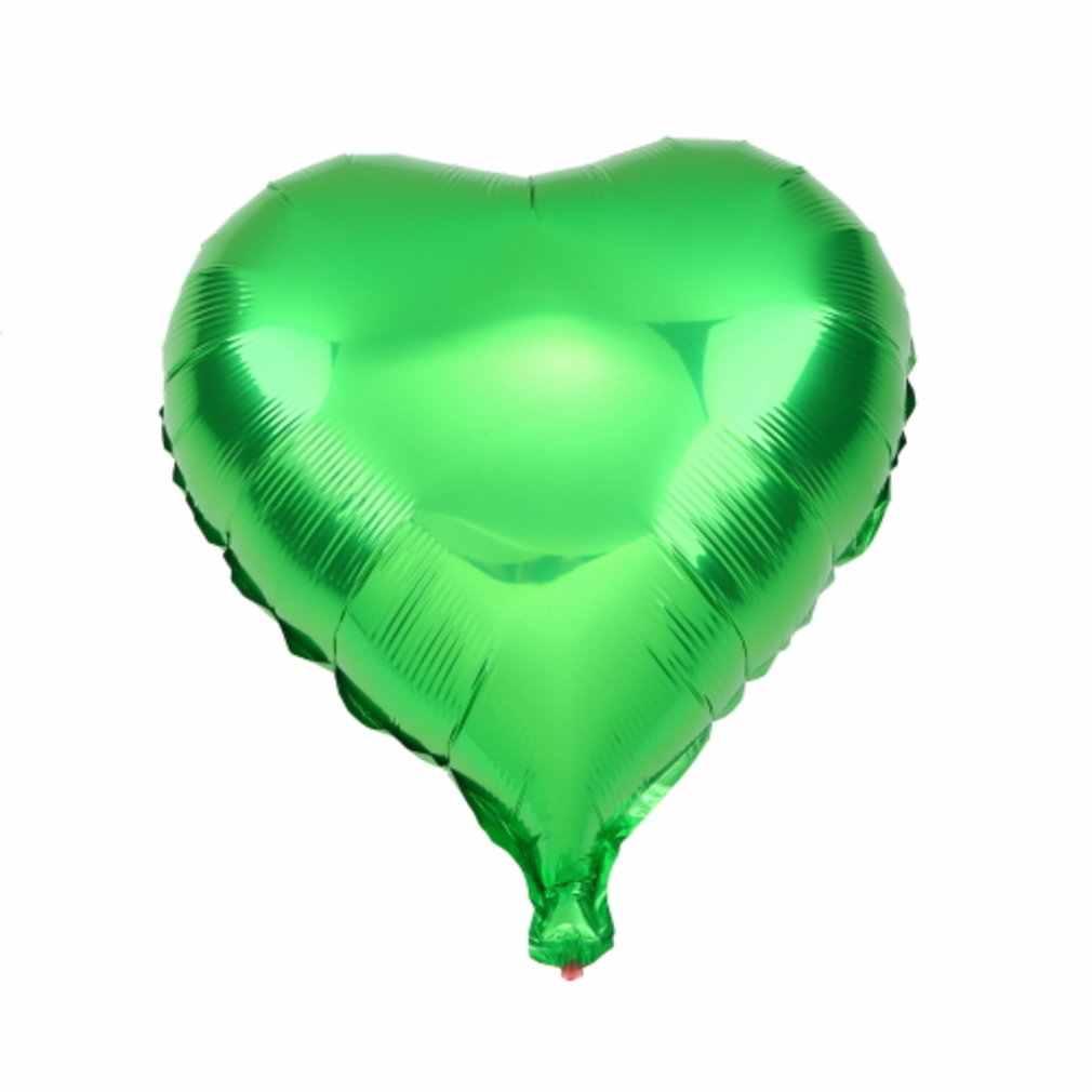 18in kolorowe w kształcie balonów foliowych w kształcie serca urodziny wesele Decoratioan Infatable zabawki dla dzieci zabawki na zewnątrz odprawy
