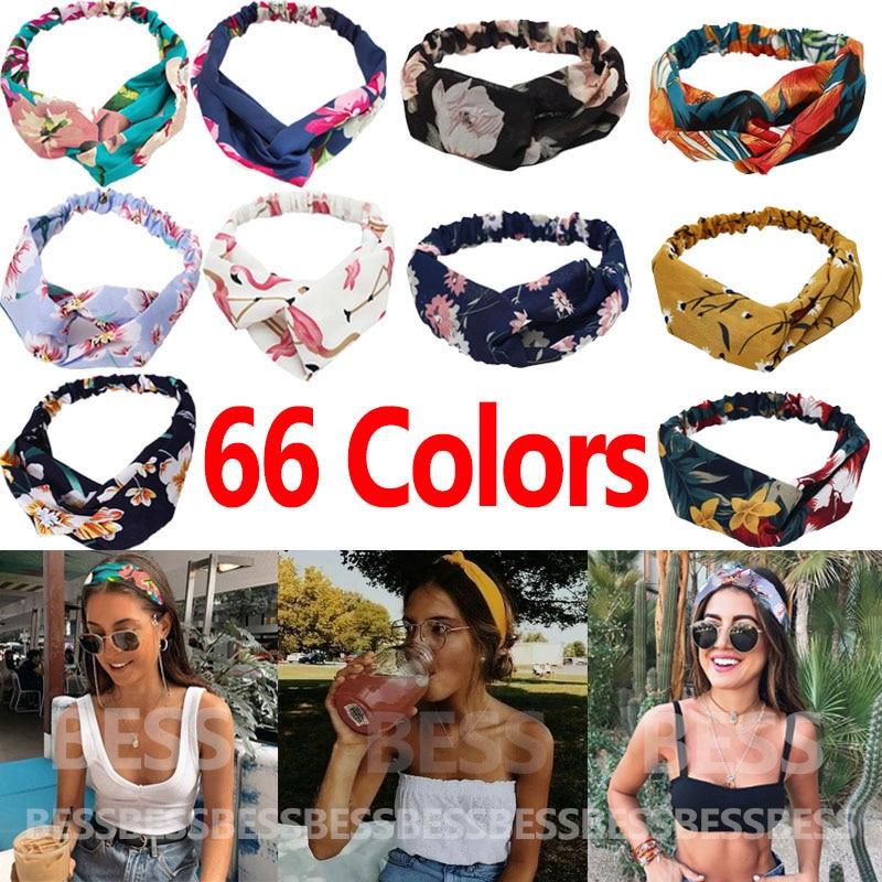 Leopard Headband Hair-Accessories Knot Gift Print Girls Fashion Women