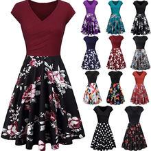 Женское облегающее платье с цветочным принтом весна лето 2020