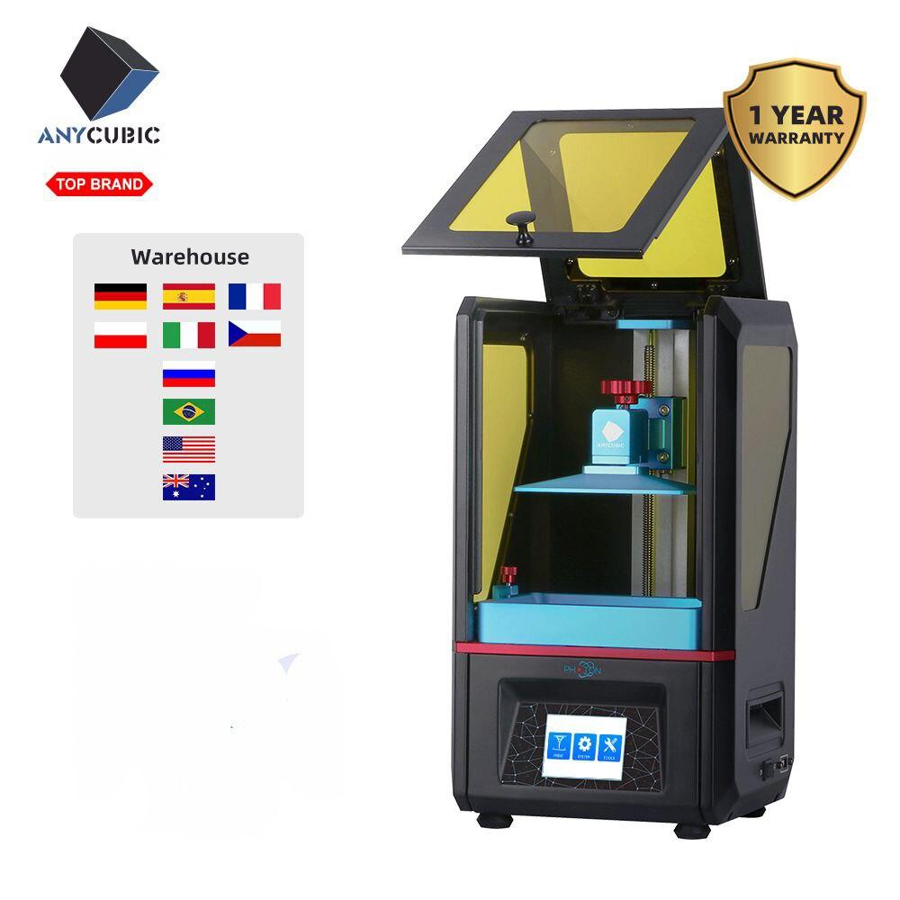 Фотонный полимер Anycubic, 3D принтер, искусственная смола, SLA/LCD Высокоточный фотонный светильник отверждающий принтер, обновленные наборы 3D