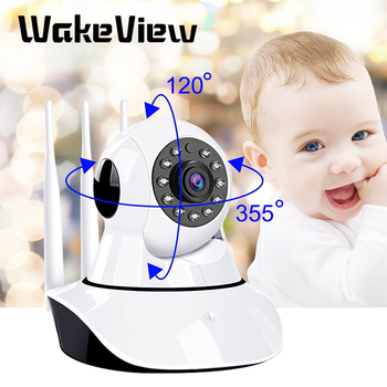 WakeView HD 1080P 2MP Home Security IP Camera Wireless  Smart PTZ Audio Video Camera CCTV WiFi Night Vision IR Baby Monitor цена 2017