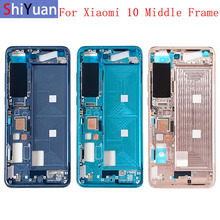 Housing Middle Frame LCD Bezel Plate Panel Chassis For Xiaomi Mi 10 10Pro 10Ultra 5G Phone Metal Middle Frame