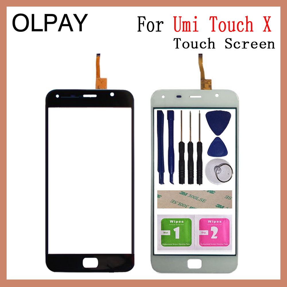 Mobile Phone Touch Panel 5.5'' Inch For Umi Touch / Touch X Touch Screen Digitizer Panel Fornt Glass Sensor Repair Parts