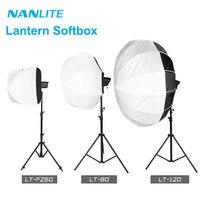 NanGuang LT FZ60 LT 80 120 Lantern Softbox Bowens mount for Nanlite Forza 60 60B 200W 300 500 Photography light accessories