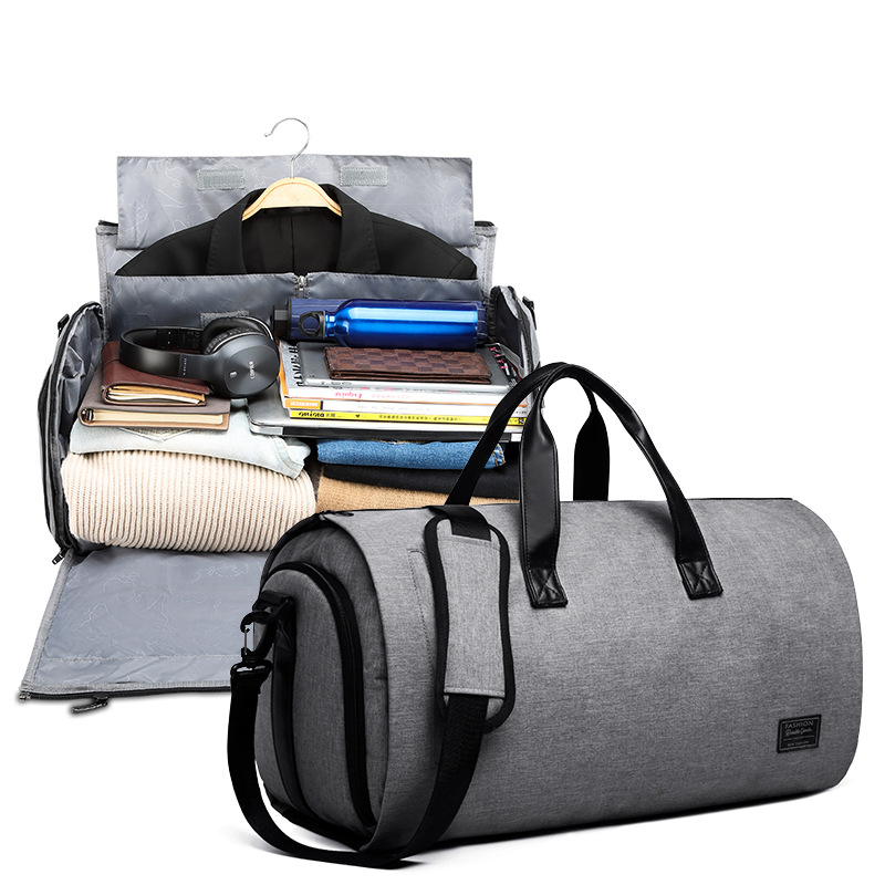 Cross Border For Wet And Dry Separation Xi Zhuang Bao Large-Volume Multi-functional Business Suit Travel Bag Hand Bag