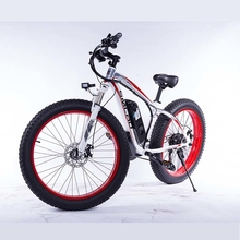 SMLROManufacturer  Chinese wholesaler 350w 26 inch electric mountain bike fat tires 48v ebike
