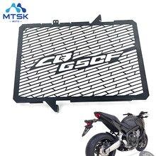 Capa protetora para grade do radiador, acessórios para motocicleta, proteção para grade do radiador, para honda cb650f 2014 2015 2016 cb 650f cb 2017 f