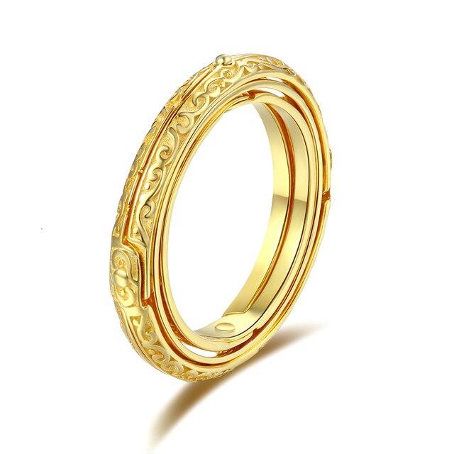 Strollgirl novo 925 prata astronômico amor anel esfera anel constelações dedo anel de prata para casal amante jóias