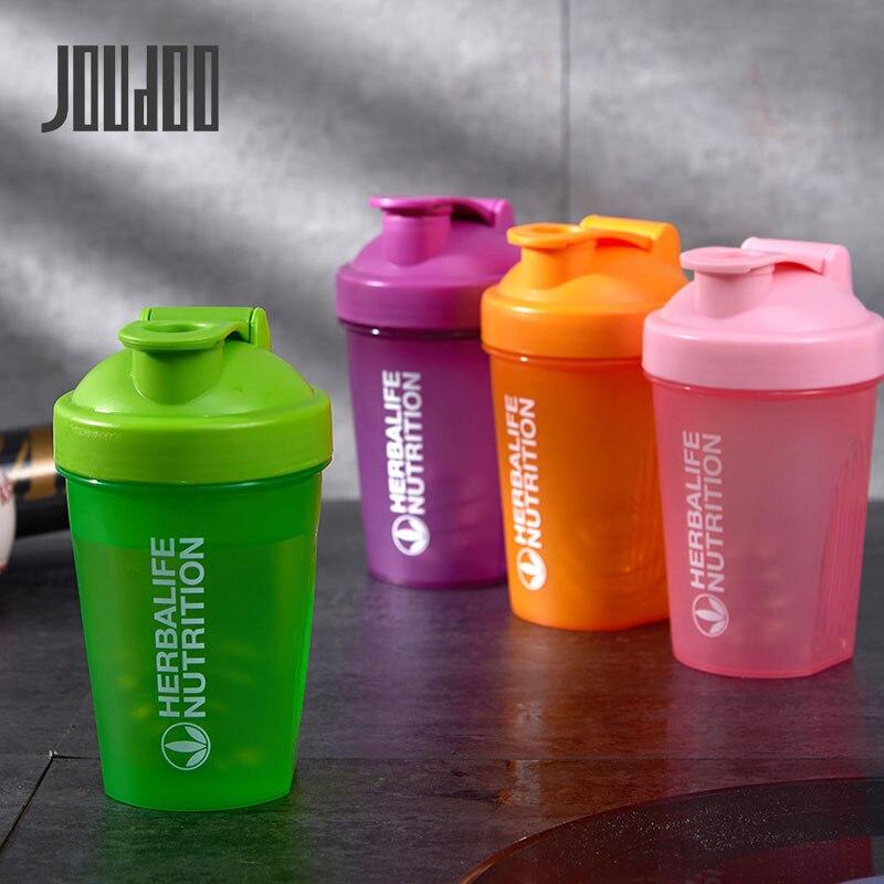 400ML/600ML Herbalife su şişesi içecek plastik sızdırmaz spor şişeleri Protein Shaker su şişesi Drinkware BPA ücretsiz