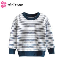 Children Sweater 2019 Striped Autumn Winter Casual Kids Clothing Color Patchwork Knitwear Pullover Knitting Baby Boys Sweaters M недорого