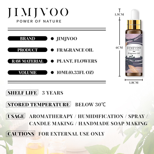 Angel Fragrance Oil 10ML with Dropper Perfume Oil Diffuser Essential Oil Jadore Coconut Vanilla Coffee Apple Peach Violet Oil 3