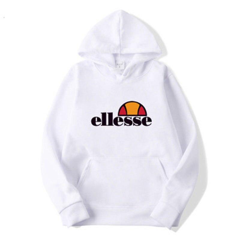 Brand Men Sports Hoodie 2019 Autumn Male Casual Hoodies Sweatshirts Men's Solid Color Hoodie Sweatshirt Ellesses Streatwear