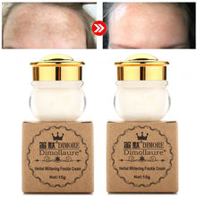 2PCS Dimollaure Strong whitening Freckle cream 15g Removal melasma Acne Spots pi