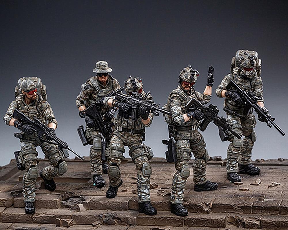 1//6 Scale TOY US Forces spéciales-Woodland Camo poitrine de