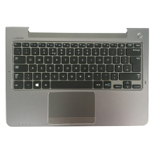 UK Keyboard NP540U3 NP532U3A Palmrest-Cover NEW Samsung for Np530u3b/Np535u3c/Np540u3/..
