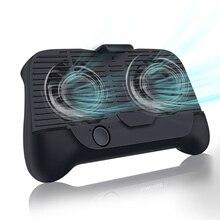 Универсальный держатель для геймпада, кулер для мобильного телефона, охлаждающий вентилятор с 2000 мАч, внешний аккумулятор, радиатор, бесшумный вентилятор для iPhone, Xiaomi